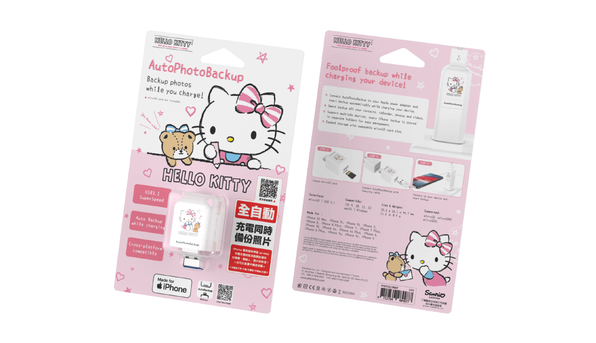 PhotoFast PhotoCube hello kitty