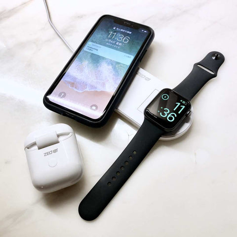 ZEOdigi | 2合1 Apple Watch 無線快充 NextPad