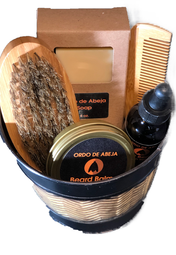 Ordo de Abeja Beard Gift Collection - The Beepothekere Shop by Linda's Bee Farm, LLC