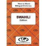 Swahili Word to Word® Bilingual Dictionary
