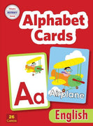 Velázquez Biliteracy Program - PreK Alphabet Cards - English