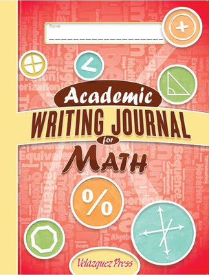 Academic Writing Journal for Math - Velàzquez Press | Biliteracy