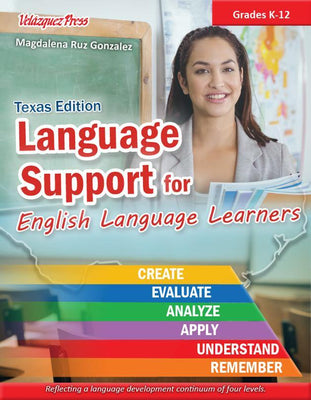 Language Support for English Language Learners (Texas Edition) - Velàzquez Press | Biliteracy