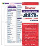 Academic Vocabulary,Common Core