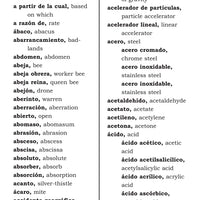 Velázquez Spanish and English Glossary for the Science Classroom