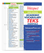Velázquez High School Academic Vocabulary TEKS Essential Set - Amharic