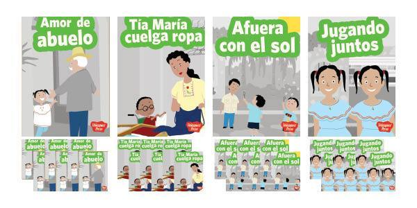 Velázquez Biliteracy Program PreK la Familia Set