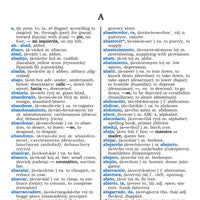 Velázquez World Wide Spanish English Dictionary Sample