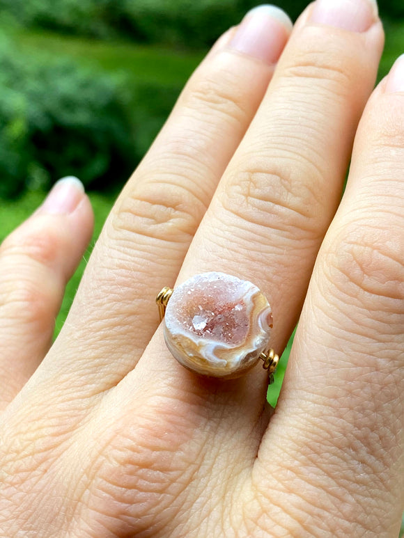 Occo Druzy Multi-Function Ring