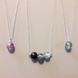 Stone Bead Necklace :: by The Vital Element