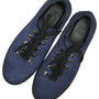 Granada Navy Blue Suede Sneakers