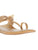 Women Vegan Light Gold Kolhapuri