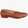 Men Tan Leather Mojris
