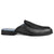 Moscow Men Black Leather Mules