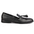Bari black tassel loafers