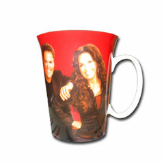 Donny and Marie Latte Mug
