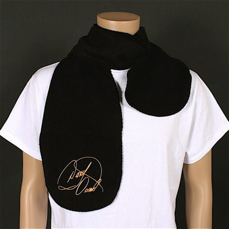 Donny Osmond Embroidered Fleece Scarf