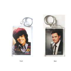 Donny Osmond Photo Keychain