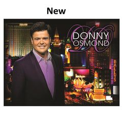Donny Osmond Las Vegas City Light Blanket