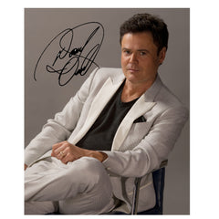 Donny 8 x 10 White Suit Photo - Autographed