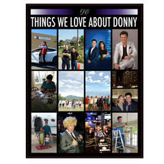 "2016 ""Why We Love Donny"" Blanket"