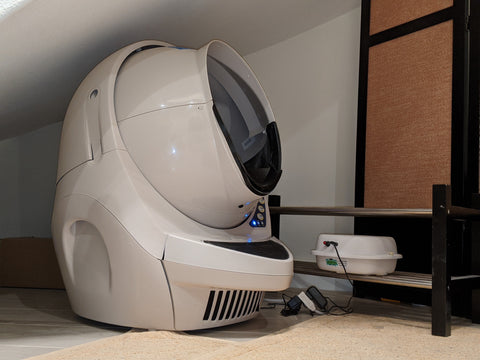Litter Robot and Purrified Air, convenience meets odor control