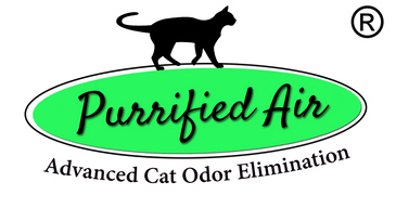 Purrified Air logo with registered trademark