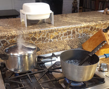 Purrified Air Wall Bracket & Table Top Holder over stove with smelly cooking