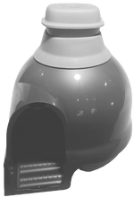 Load image into Gallery viewer, Adapter for Purrified Air filter for Dome-Shaped Litter Box Covers