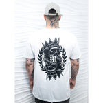 King of Hearts White T-Shirt