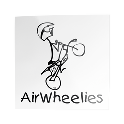 Air Wheelie Stickers - 3 Pack/10 Pack