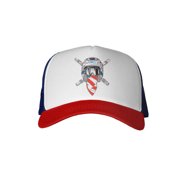 Ronnie Mac Trucker Hat - Red/White/Blue