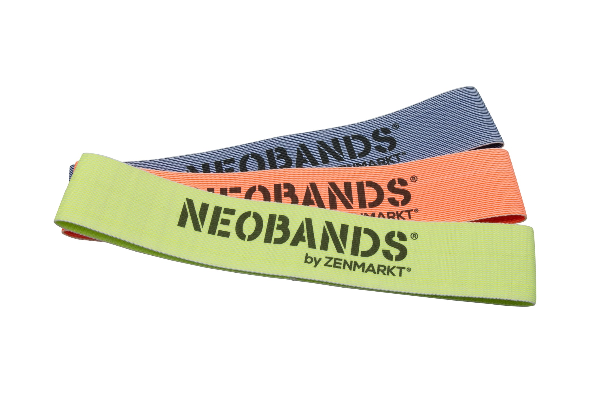Zenmarkt® NEOBANDS® Resistance Loop Exercise Booty Bands - Newest Fabric Innovation (Set of 3)  …