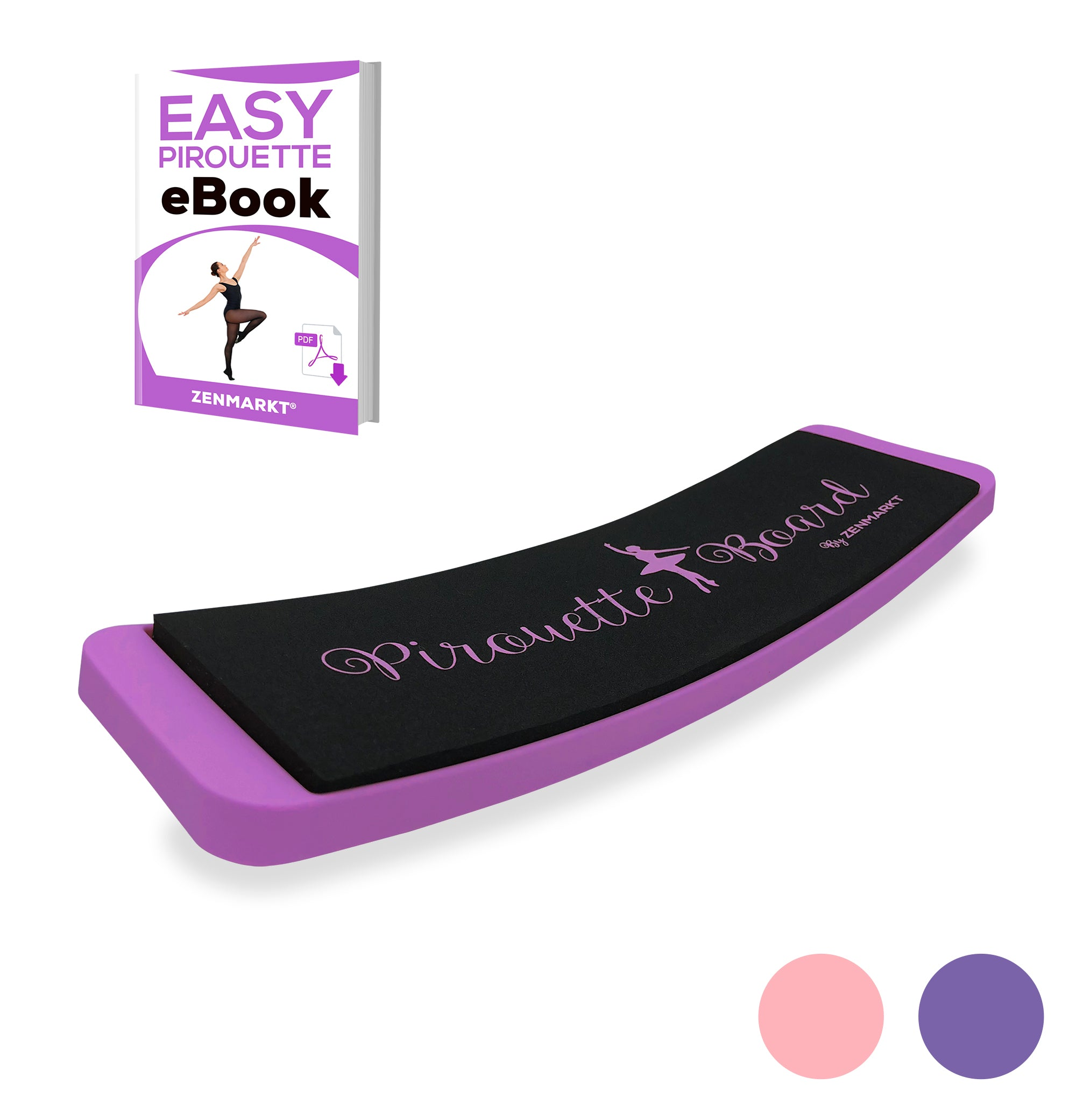 Zenmarkt® Pirouette Board for Dancers (without Carry Bag)