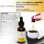 ElixrMED Hemp Oil Tincture 500 Herbal Drops-ElixrMED