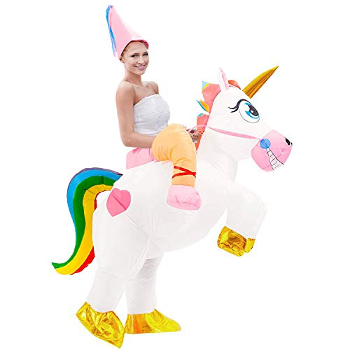 36ae0b6d4434 Inflatable Unicorn Costume for Adult – Lewo Cheap Toy Store