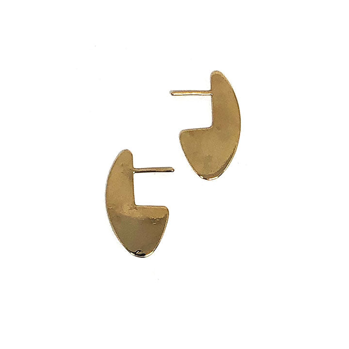 Oblong Earrings - Small