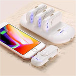FINGER MAGNETIC CHARGING: POCKET-BATTERY BACKUP CHARGER