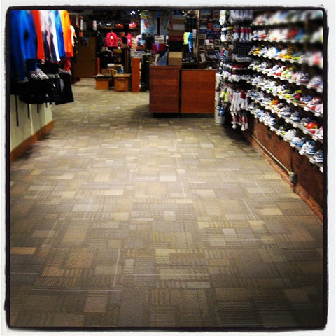After: Marathon Sports Boston's New Carpet Adds a Whole New Layer of Depth