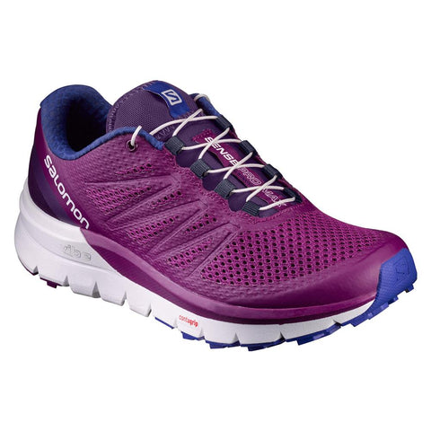 Salomon Women's Sense Pro Max - Grape Juice/White/Surf the Web (L39248800)