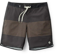 Vuori Men's Cruise Boardshort - Charcoal Acorn Stripe (V314CAS)