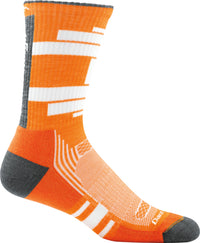 Darn Tough Men's Press Crew Light Cushion Running Socks (1004)