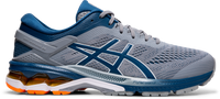 Asics Men's Gel-Kayano 26 - Sheet Rock/Mako Blue (1011A541.021)