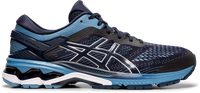Asics Men's Gel-Kayano 26 Extra Wide (4E) - Midnight/Grey Floss (1011A536.400)