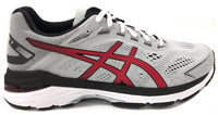 Asics Men's GT-2000 7 - Mid Grey/Speed Red (1011A921.020)