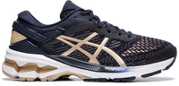 Asics Women's GEL-KAYANO 26 Wide (D) - Midnight/Frosted Almond (1012A459.400)