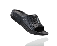 Hoka One One Men's Ora Recovery Slide - Black/Anthracite (1014864-BANT)