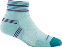 Darn Tough Women's Vertex 1/4 Ultra-Light Cushion Running Sock (1019)