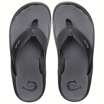 OluKai Men's 'Ohana - Black/Dark Shadow (10110A-4042)