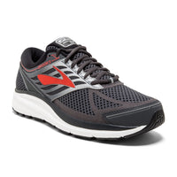 Brooks Men's Addiction 13 Narrow (B) - Ebony/Black/Red (1102611B080)